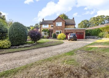 Thumbnail 4 bed detached house for sale in The Fairway, Camberley, Surrey