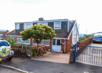 Thumbnail 3 bed semi-detached house for sale in York Close, Heolgerrig, Merthyr Tydfil