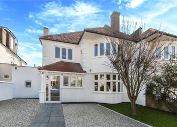 Thumbnail 5 bedroom semi-detached house for sale in Menelik Road, West Hampstead, London