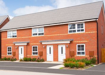 "Thumbnail 2 bed terraced house for sale in ""Kenley"" at Tiber Road, North Hykeham, Lincoln"