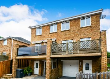 Thumbnail 3 bed town house for sale in Voisey Close, Chudleigh Knighton, Newton Abbot