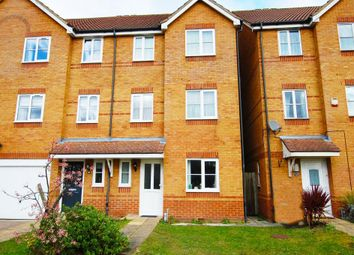 Thumbnail 4 bed town house for sale in Beech Close, Aldershot