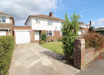 Thumbnail 3 bed semi-detached house for sale in Hartslock Way, Tilehurst, Reading