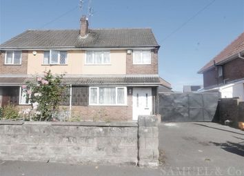 Thumbnail 3 bed semi-detached house to rent in Dixon Street, Wolverhampton