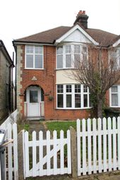 Thumbnail 3 bedroom semi-detached house to rent in Sidegate Lane West, Ipswich