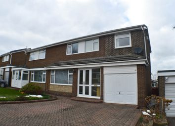 Thumbnail 4 bed semi-detached house for sale in Castle Road, Prudhoe