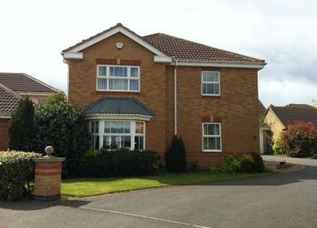 Thumbnail 4 bed detached house to rent in Lindisfarne Way, Grantham