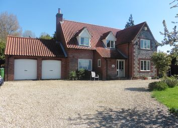 Thumbnail 4 bed detached house for sale in Common End, Colkirk