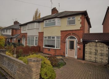 Thumbnail 3 bed semi-detached house for sale in West Drive, Humberstone, Leicester