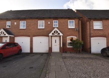 Thumbnail 3 bed semi-detached house for sale in Staples Drive, Coalville