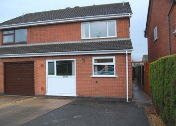 Thumbnail 3 bed semi-detached house for sale in Boatmans Close, Ilkeston, Derbyshire