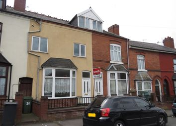 Thumbnail 5 bedroom terraced house for sale in Earl Street, Walsall