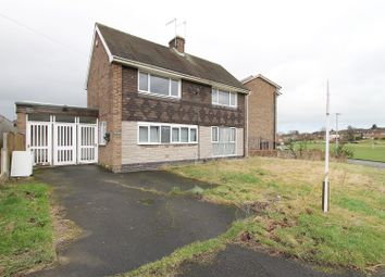 Thumbnail 3 bed detached house for sale in Willow Garth Road, Dunston, Chesterfield
