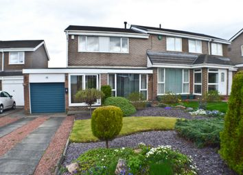 Thumbnail 3 bed semi-detached house for sale in Cherry Grove, Prudhoe
