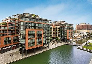 Thumbnail 3 bedroom property to rent in Water Views, Merchant Square, London