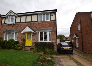 Thumbnail 3 bed semi-detached house for sale in Woodside Avenue, Meanwood, Leeds, West Yorkshire