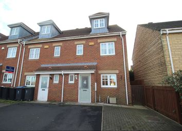 Thumbnail 4 bed terraced house for sale in Greenhills, Quaking Houses, Stanley