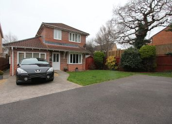 Thumbnail 4 bed detached house for sale in Plas Gwernen, Barry