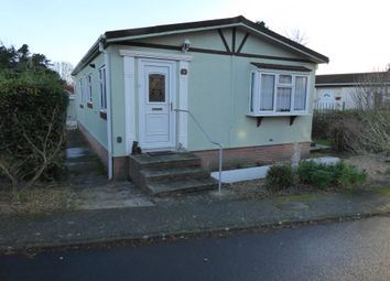 Thumbnail 2 bedroom mobile/park home for sale in Heathlands Park, Foxhall Road, Ipswich, Suffolk, 2Sz