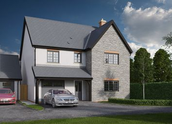 Thumbnail 4 bed detached house for sale in Cowbridge Road, St. Nicholas, Cardiff