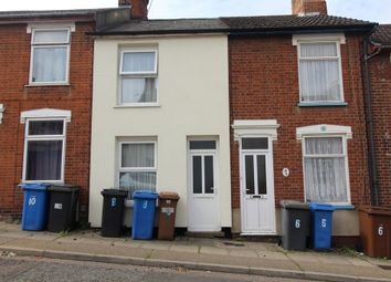 Thumbnail 2 bed terraced house for sale in Finchley Road, Ipswich