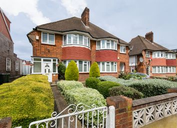 Thumbnail 3 bed semi-detached house for sale in East Acton Lane, Acton, London