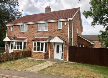 Thumbnail 3 bed semi-detached house to rent in Sluice Road, Wiggenhall St. Mary The Virgin, King's Lynn