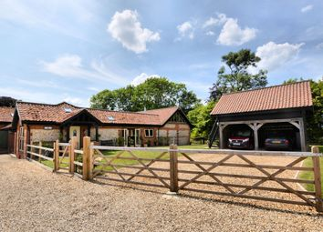 Thumbnail 4 bedroom barn conversion to rent in Shipdham Road, Carbrooke, Thetford