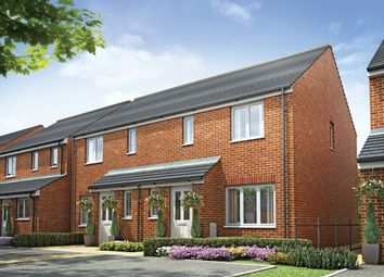"Thumbnail 3 bed semi-detached house for sale in ""The Hanbury"" at Hay-On-Wye, Hereford"