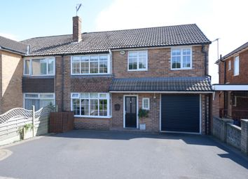 Thumbnail 4 bed semi-detached house for sale in Holmesdale Road, Dronfield