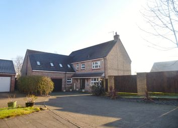 Thumbnail 5 bedroom detached house for sale in The Croft, Kirby Hill, Boroughbridge, York