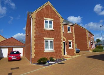 Thumbnail 3 bed detached house for sale in Snowdrop Grove, Dowham Market