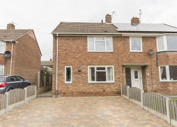 Thumbnail 2 bed semi-detached house for sale in Sudhall Close, Dunston, Chesterfield