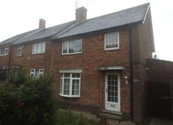 Thumbnail 3 bed end terrace house for sale in Raithby Close, Bestwood Park, Nottingham