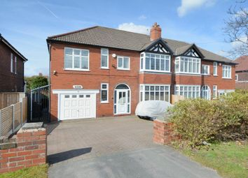 Thumbnail 4 bed semi-detached house for sale in Macclesfield Road, Hazel Grove, Stockport