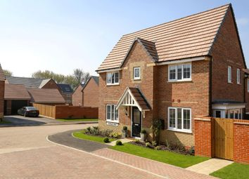 "Thumbnail 3 bedroom semi-detached house for sale in ""Morpeth"" at Blackthorn Crescent, Brixworth, Northampton"