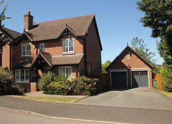 Thumbnail 4 bed detached house for sale in Whitridge Way, Trefonen, Oswestry