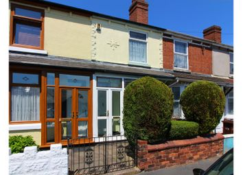 Thumbnail 2 bedroom terraced house for sale in Fraser Street, Bilston