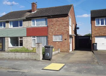 Thumbnail 3 bed semi-detached house for sale in Malton Road, North Hykeham, Lincoln