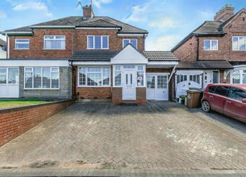 Thumbnail 3 bed semi-detached house for sale in Barns Lane, Rushall, Walsall