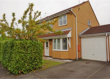 Thumbnail 3 bed semi-detached house for sale in Burchnall Road, Leicester