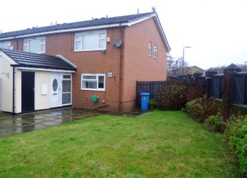 Thumbnail 2 bed end terrace house to rent in Buckfield Avenue, Salford