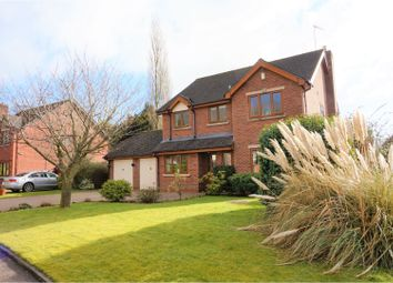 Thumbnail 4 bed detached house for sale in Nightingale Close, Stoke-On-Trent