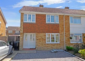 Thumbnail 3 bed semi-detached house for sale in Iden Crescent, Staplehurst, Kent