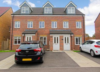Thumbnail 3 bed town house for sale in Springbank, Peterlee