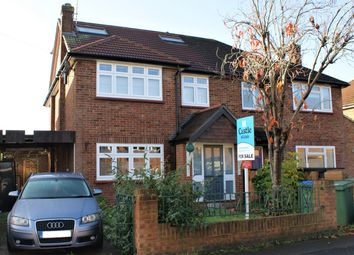 Thumbnail 4 bedroom semi-detached house for sale in Havers Avenue, Hersham, Walton-On-Thames