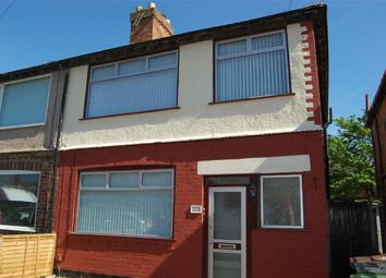 Thumbnail 3 bed semi-detached house for sale in Riverslea Road, Crosby, Liverpool