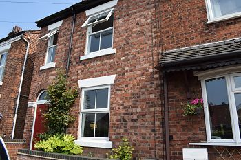 Thumbnail 2 bed end terrace house to rent in Victoria Street, Sandbach