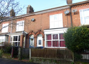 Thumbnail 3 bedroom terraced house to rent in Mornington Road, Norwich