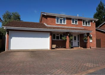 Thumbnail 4 bed detached house for sale in Cedar Way, Ferndown